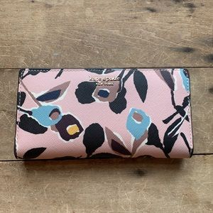 Cameron Street Stacy Wallet Paper Rose Pink Multi